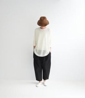 ichi 長版羊毛針織上衣