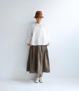 ichi 荷葉領寬版襯衫