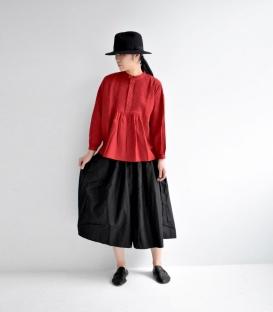 ichi 抽繩鬆緊帶寬褲裙