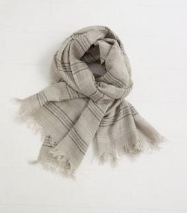 ICHI Antiquités 麻料圍巾