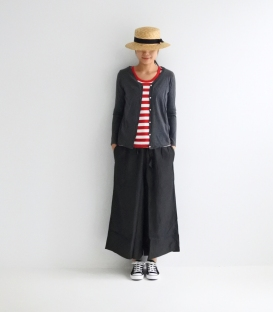 ichi V領釦釦外套