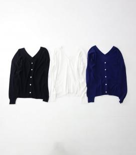 ichi 兩穿式V領上衣