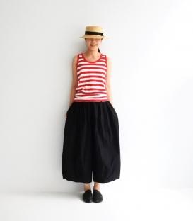 ichi 條紋綿背心