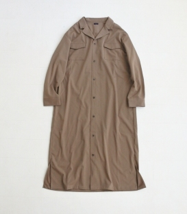 ichi 西裝領雙口袋長外套