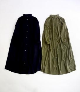 ichi 基本款A版長襯衫洋裝