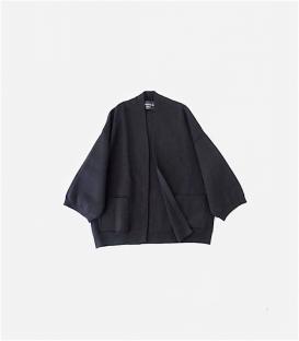 soi-e針織膨袖短外套