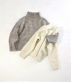ichi 高領編織毛衣