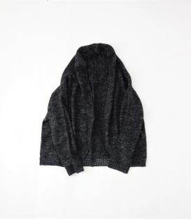 ichi 毛麻針織罩衫