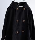 Brocante 麻料雙排釦風衣外套