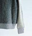 Brocante 壓縮羊毛拼接上衣