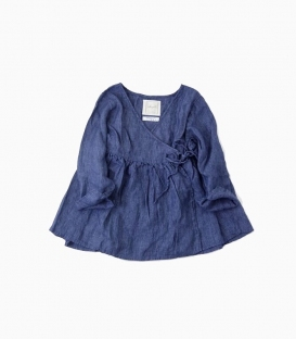 ICHI Antiquités 短版罩衫上衣