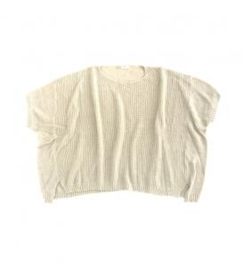 ichi 針織寬版連袖上衣