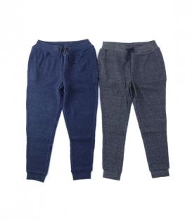 ichi 立體凸紋運動棉褲