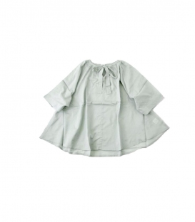 ichi 薄棉料綁帶上衣