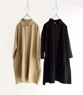 ichi 薄綿寬版風衣外套