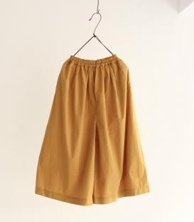 ichi 薄棉鬆緊腰寬褲裙