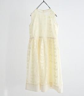 haupia 蒲公英圖型貼布洋裝