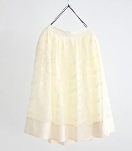 haupia 蒲公英圖型貼布裙